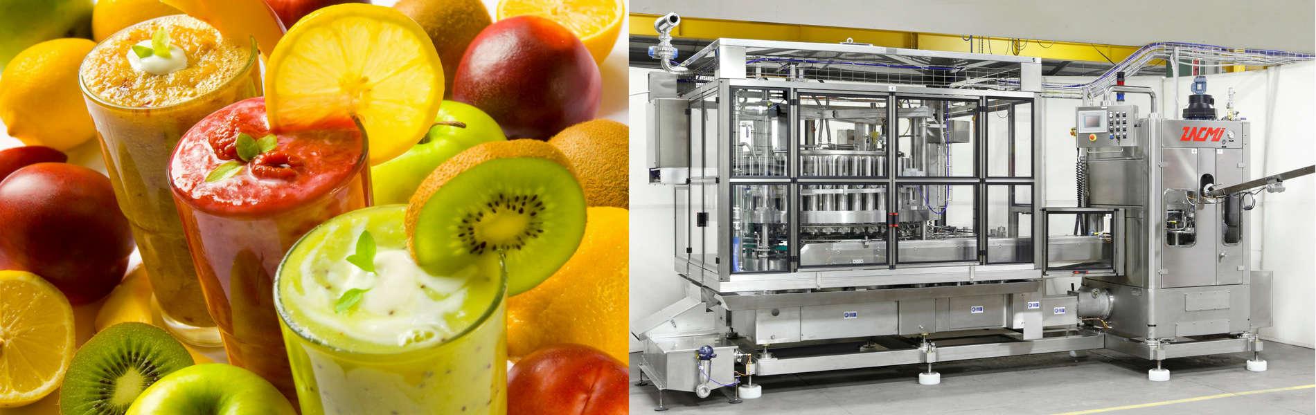 Sản xuất nước trái cây cô dặc