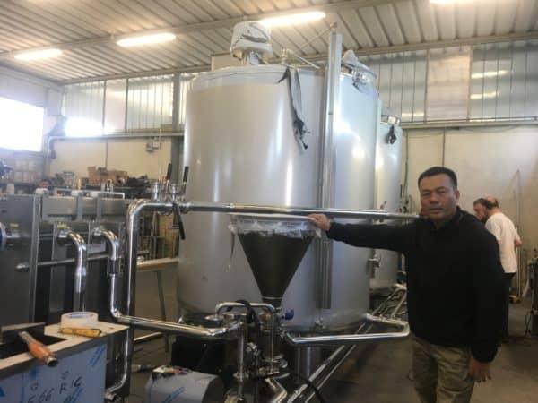 Chế biến sữa Kim Nguyễn