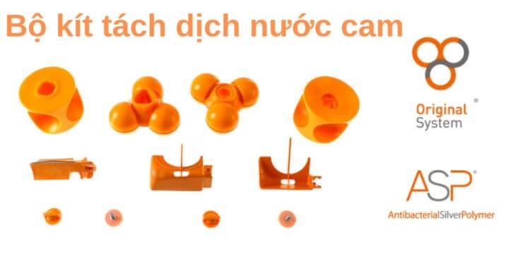 Công nghệ tách dịch nước cam của Zumex S.A