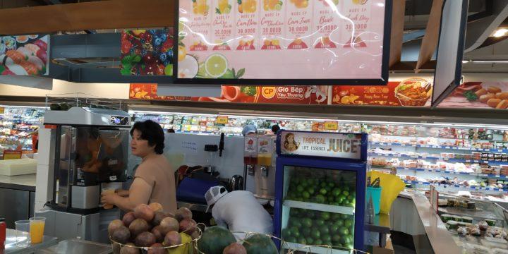 Tropical Juices Shop tại Siêu Thị CoopXtra Tân Phong, Quận 7 đi vào hoạt động.